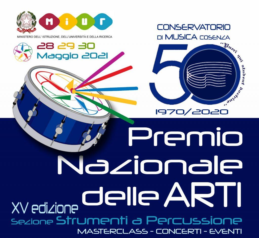 Premio Nazionale delle Arti 2020 sezione Percussioni